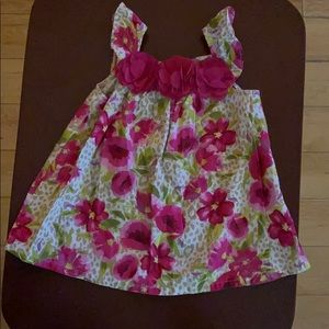 Children's Place Floral baby girl dress